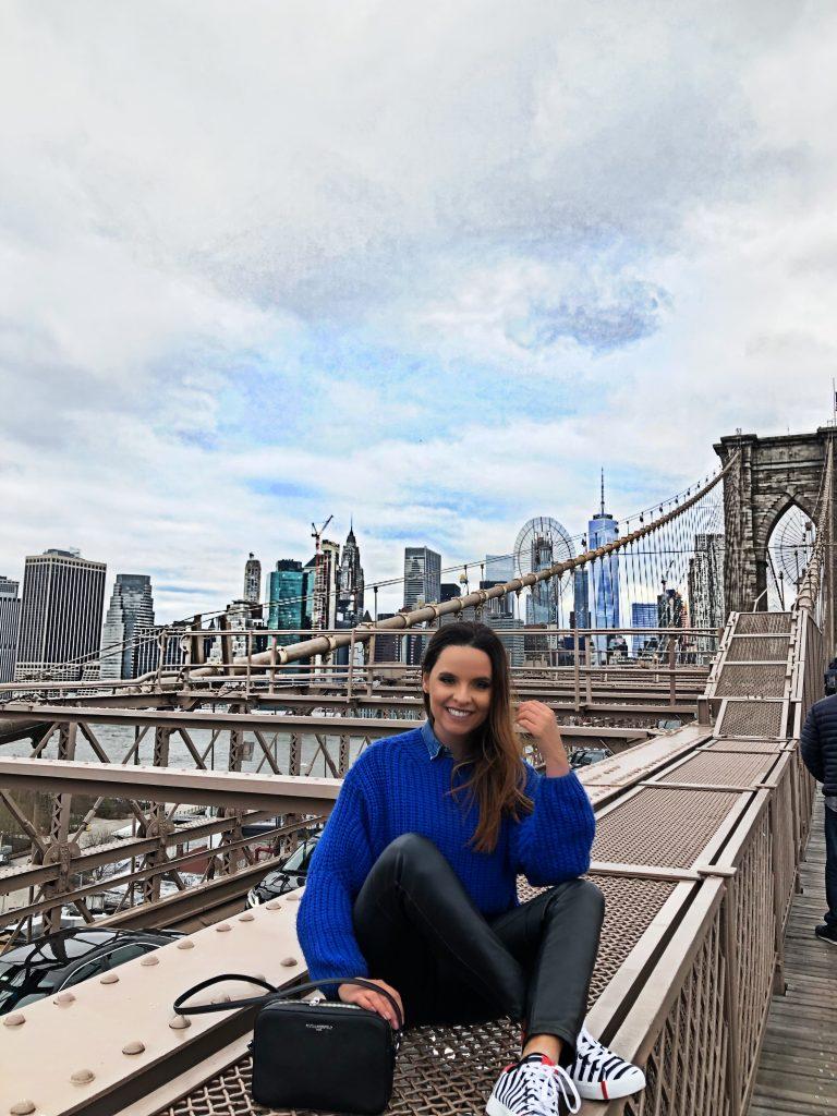 Brooklyn bridge walking